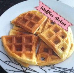 Receita - Waffles Dukan