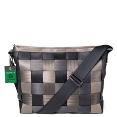 Seatbelt messenger bag