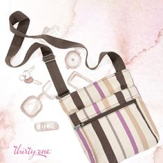 The Organizing Shoulder Bag helps you hold it all together!