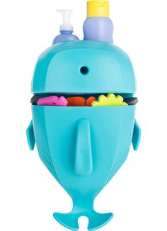 Whale Pod - bath toy scoop, drain and storage