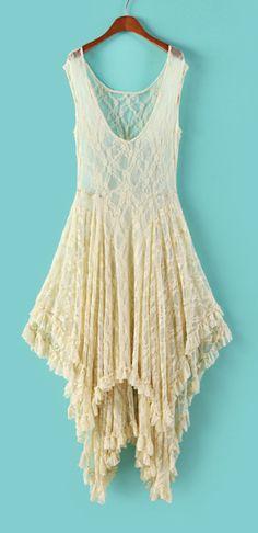 Boho lace dress