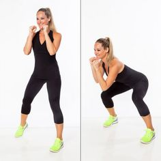 Best kickboxing exercise to work your abs: bob and weave.