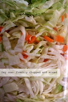 Making Open-Crock Sauerkraut (or how to ferment just about any vegetable) – Nourishing Days