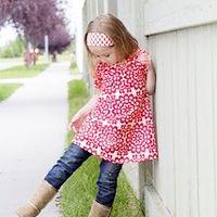 Ruffled Lilly BIG GIRL Swing Top/Dress 4yr-8yr E-Pattern
