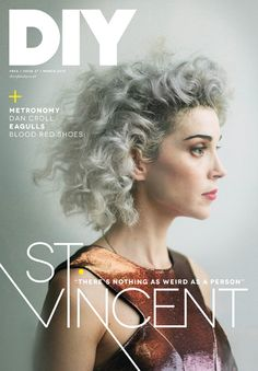 DIY -In the magazine March 2014 Featuring St. Vincent