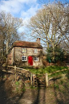 Gnome Cottage in The Devil's Punch Bowl, Hindhead, England