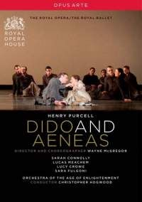 The classic Dido and Aeneas combines traditional performances of the opera singers with contemporary dance. Dido, the noble queen of Carthage, has fallen in love with the Trojan Prince Aeneas. While the court celebrates the imminent union of the two monarchs, the evil sorceress with her coven of witches plots their downfall. Romance leads to heartbreak and tragedy. DVD 547