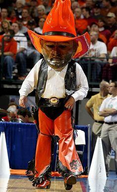 Number 1 mascot - Pistol Pete