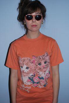 Cat shirt.