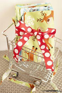Great Tradition for kids + Great gift idea-Kids Christmas Pillowcase from Kristen Duke christmas time, kids christmas, christmas sewing gifts, kristen duke, ideakid christma, christmas pillowcases, gift ideakid, homemade christmas, christma pillowcas