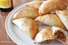 Make delicious beef empanadas for a party, lunch or dinner!