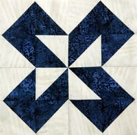 Quilters Newsletter's Block of the Month Mystery Quilt Ooh-Rah by Lori Baker continues with Block 2.