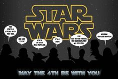 May the 4th be with you...get it?! lol - sales