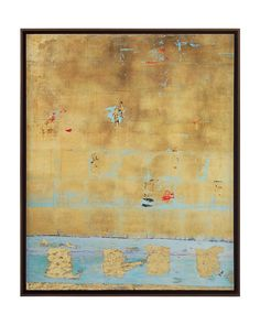 New artist Stuart Ware's Blue & Gold. We are thrilled to have her premiere at HPMKT 2013