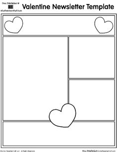 valentine's day templates for cards