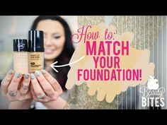 Beauty Bite: How to Match Your Foundation { Makeup Geek }