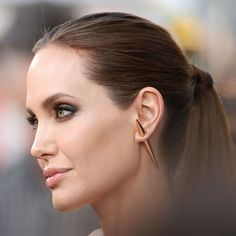 Angelina Jolie  Stella McCartney earrings