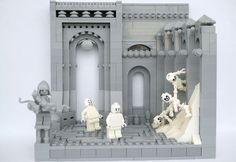 Dante's 9 Circles Of Hell Portrayed in LEGOs