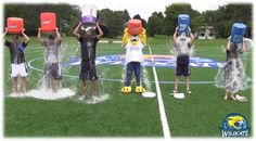 ALS ice bucket challenge: COMPLETE! Send in your videos using #CazSupportsALS