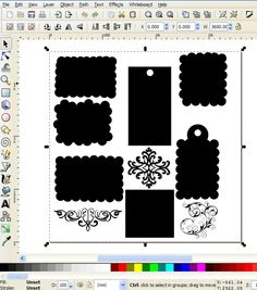 How to Use Inkscape (a free program) to create an SVG cut file
