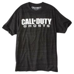 Men's Call of Duty Ghosts Graphic Tee - Charcoal Triblend