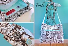 Not a huge fan of the fabric but LOVE all the pockets...great tutorial!