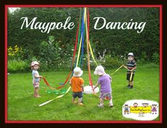 Maypole Dancing from How to Run a Home Daycare