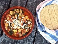 Bayless zucchini! Corn and poblano tacos