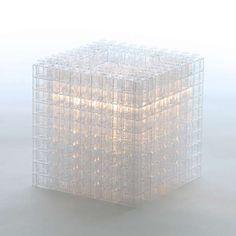 Kreaton cube lamp - diy with bricks