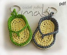 Keychain crochet pattern