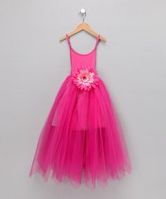 Take a look at this Dark Pink Fairy Dress - Toddler & Girls by Sparkle Couture on #zulily today!