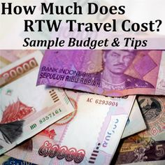 #Budget - How Much Does Round The #World #Travel Cost?