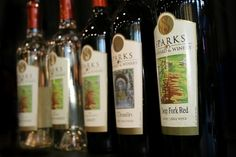 Sparks Vineyard & Winery features 80 acres of vineyards and produces popular wines that visitors are invited to taste and enjoy.