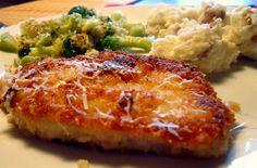 This Woman Cooks!: Buttermilk Parmesan Pork Chops