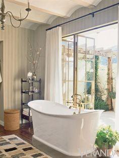 Bath featured in Veranda magazine
