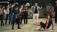 Samurai in Brazil !! Por que futbol??