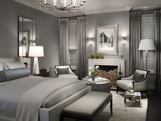 Elegant and Luxury Theme Decoration and Furniture in Modern Bedroom Color Decorating Design Ideas