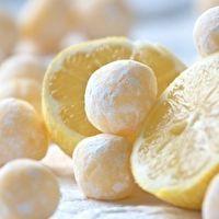 White Chocolate Lemon Truffles by Megan Betcher
