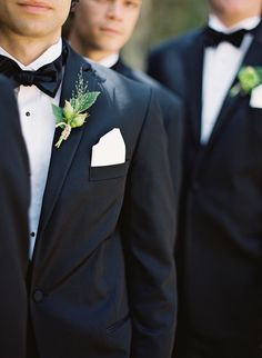 Black tuxedos