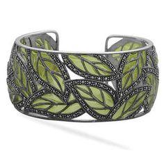 Leafy bangle