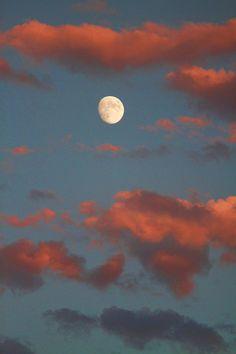 ✮ Moon Sunset