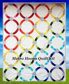 Shop | Category: Kits | Product: Metro Hoops Quilt Kit