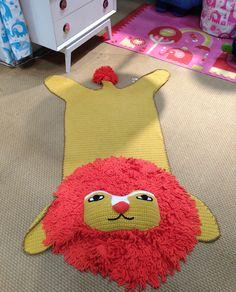 New lion rug by Jonathan Adler! #nyigf