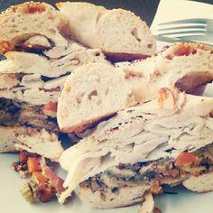 #Thanksgiving leftover special at #BKKbagels #BKK #bagels #yum - @ruben_i- #webstagram