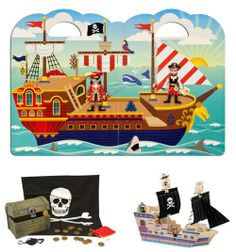 Great collection of pirate toys for the little buccaneers in your life...