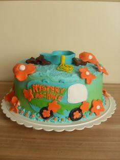 Scooby-Doo Party: Fun Cake Recipe for Kids