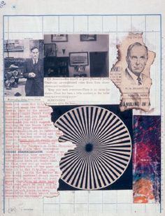 William S. Burroughs and Brion Gysin, The Third Mind, crayon, gelatin-silver prints, letterpress, offset lithography, and typescript on graph paper, 1965.