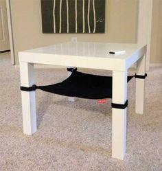 Space Saving Cat Hammock from Cat Crib, Great DIY Pet Design Idea