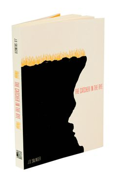 Book jacket design for catcher in the rye