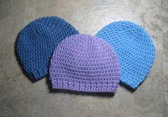 LittleNogginCap-2 free pattern hand, patterns, bitti noggin, crochet hats, newborn hats, hat pattern, noggin cap, baby hats, crochet pattern